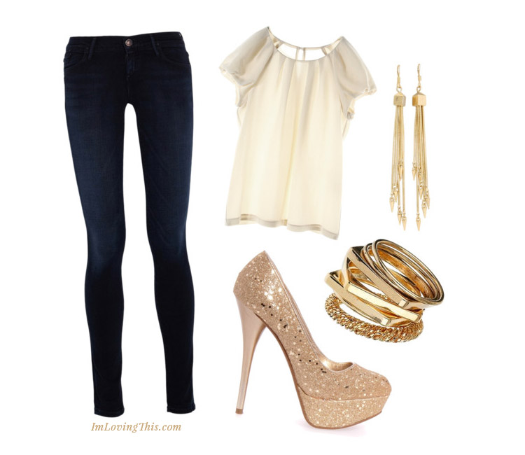 Girls Night Out Inspired Outfit