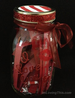 Homemade Valentine's Day Gift Idea from the Heart
