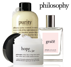 Free Philosophy Samples at Shoppers Drug Mart